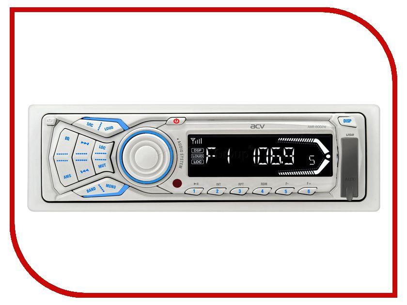 Автомагнитола ACV AMR-8002W White<br>