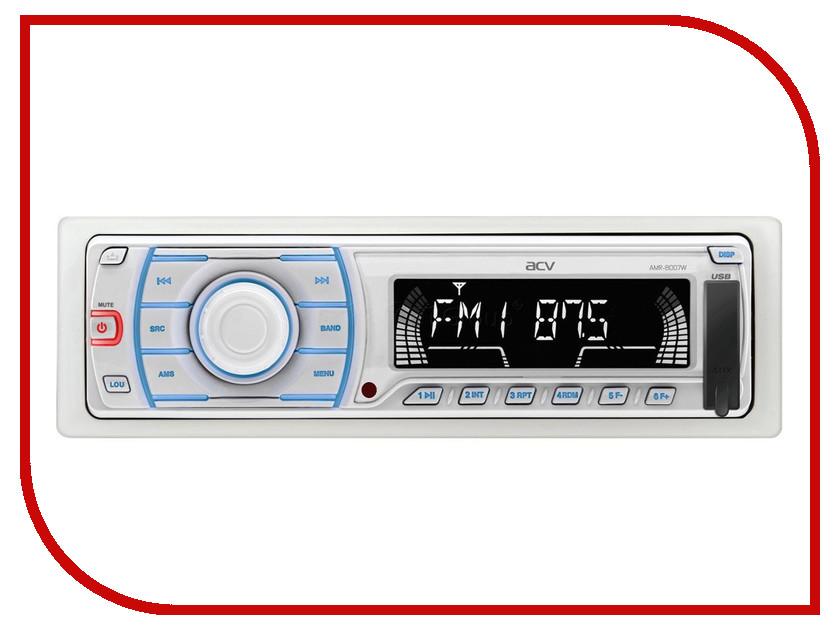 Автомагнитола ACV AMR-8007W White