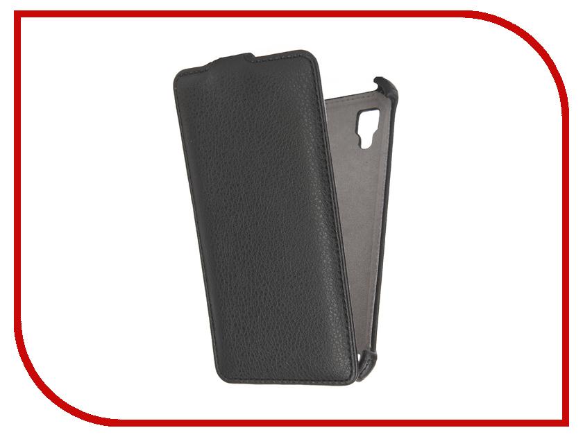 ��������� ����� Lenovo P780 Activ Flip Case Leather Black 40135