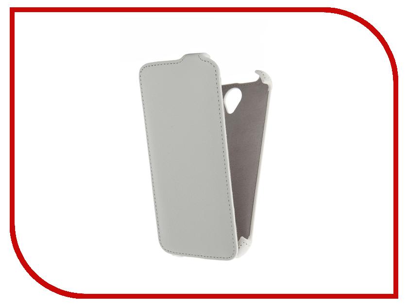 ��������� ����� Lenovo A859 Activ Flip Case Leather White 41610