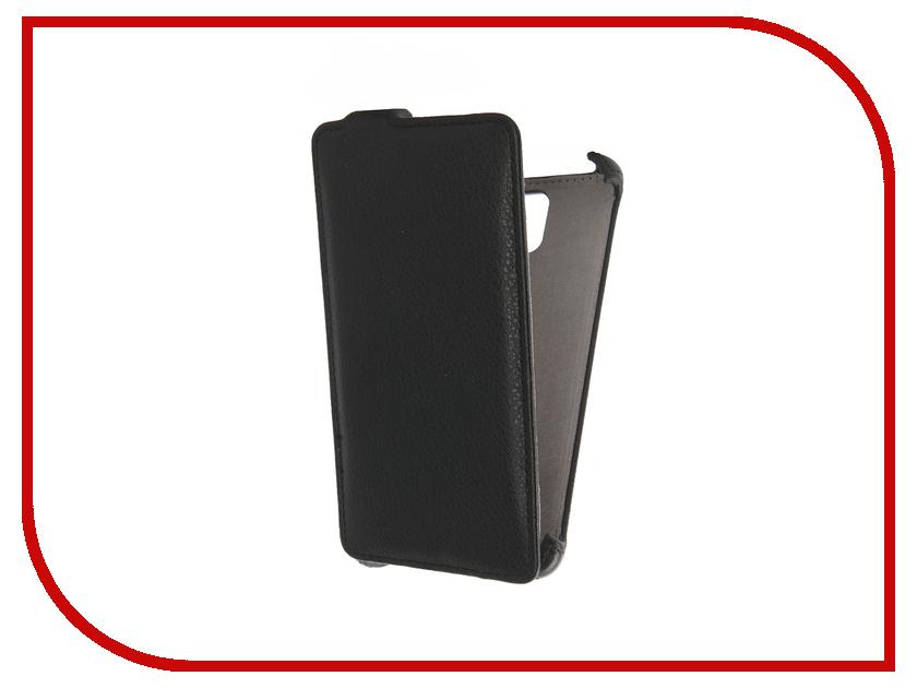 Аксессуар Чехол Lenovo A536 Activ Flip Case Leather Black 43454<br>