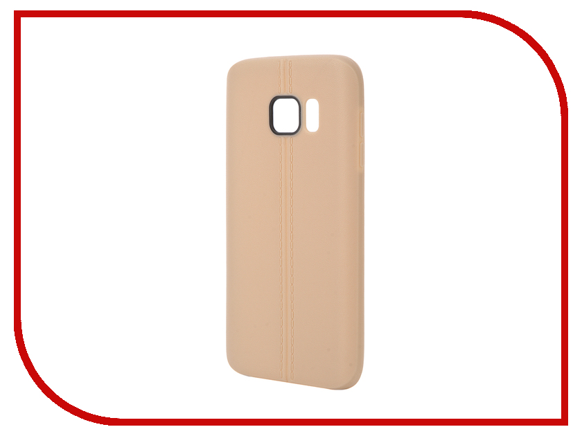 Аксессуар Чехол Samsung Galaxy S7 Soft Protective Back Case Cover Apres Brown