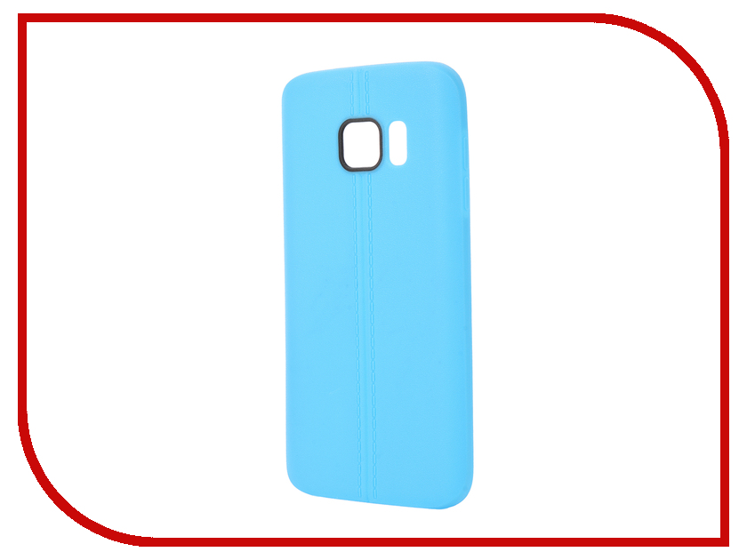 Аксессуар Чехол Samsung Galaxy S7 Soft Protective Back Case Cover Apres Blue<br>