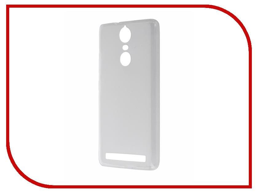 Аксессуар Чехол Lenovo K5 Note Activ Silicone Mat White 57743<br>