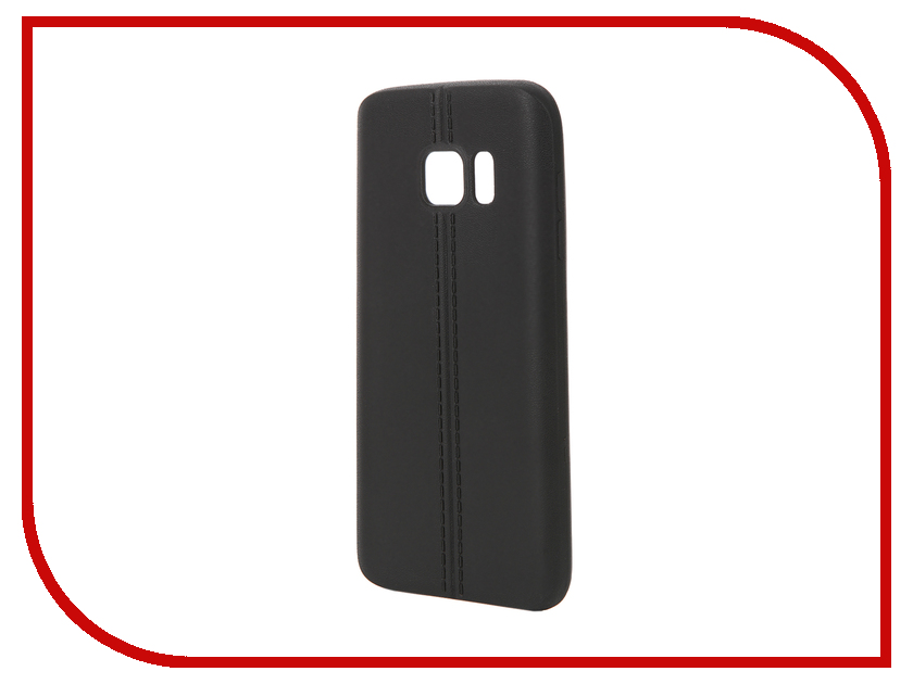 Аксессуар Чехол Samsung Galaxy S7 Soft Protective Back Case Cover Apres Black<br>