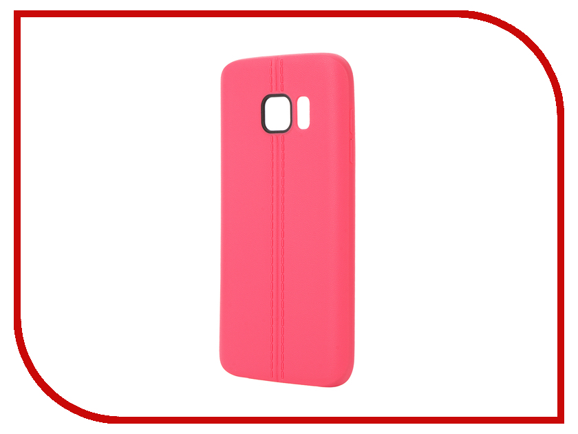 Аксессуар Чехол Samsung Galaxy S7 Soft Protective Back Case Cover Apres Pink