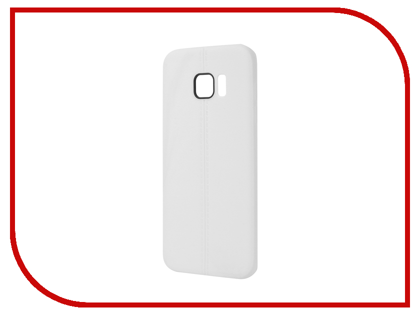 Аксессуар Чехол Samsung Galaxy S7 Edge Soft Protective Back Case Cover Apres White<br>