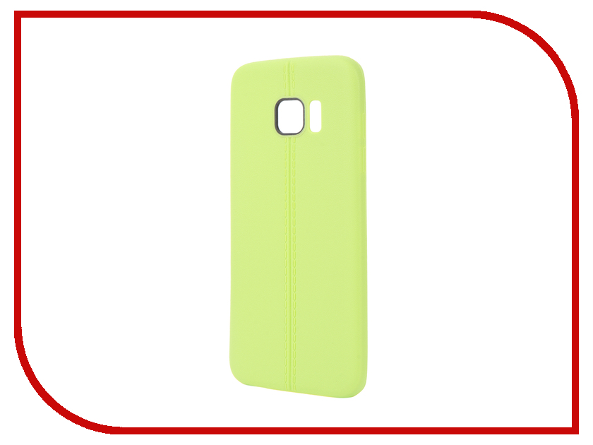 Аксессуар Чехол Samsung Galaxy S7 Edge Soft Protective Back Case Cover Apres Green