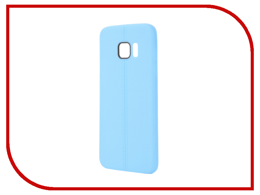 Аксессуар Чехол Samsung Galaxy S7 Edge Soft Protective Back Case Cover Apres Blue<br>