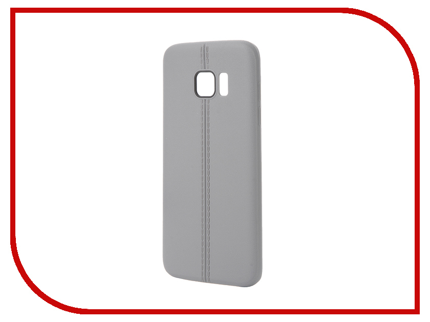 Аксессуар Чехол Samsung Galaxy S7 Edge Soft Protective Back Case Cover Apres Gray