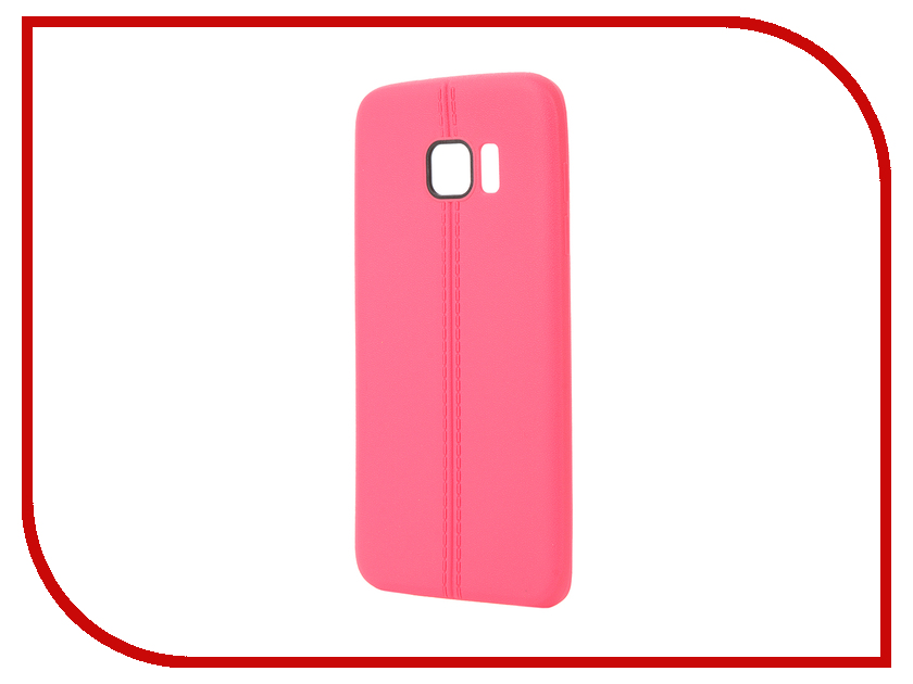 Аксессуар Чехол Samsung Galaxy S7 Edge Soft Protective Back Case Cover Apres Pink<br>