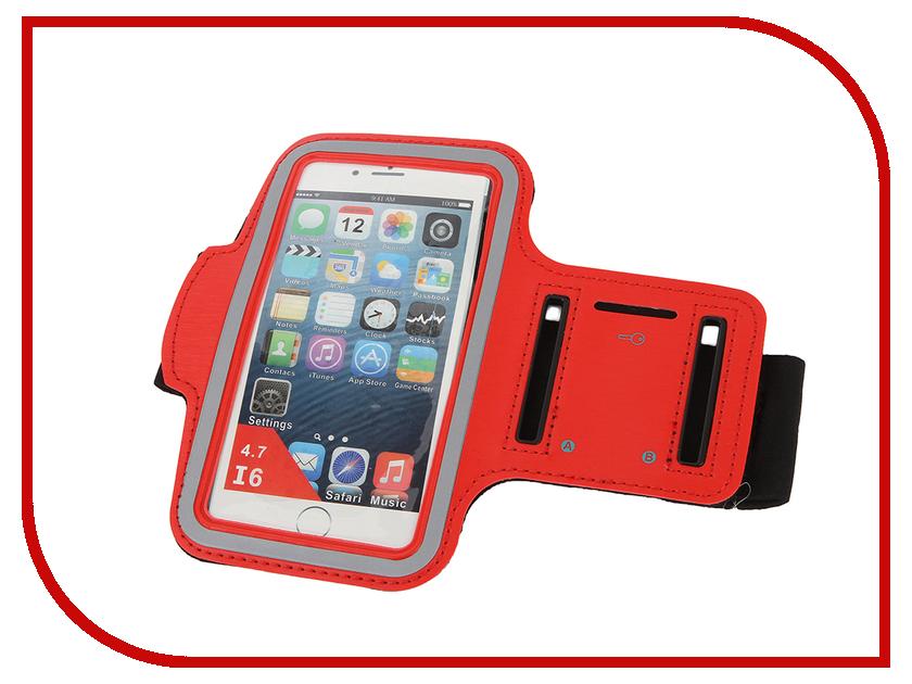 Аксессуар Чехол Apres Smart Sport Armband для iPhone 6 / 6S 4.7 Red<br>