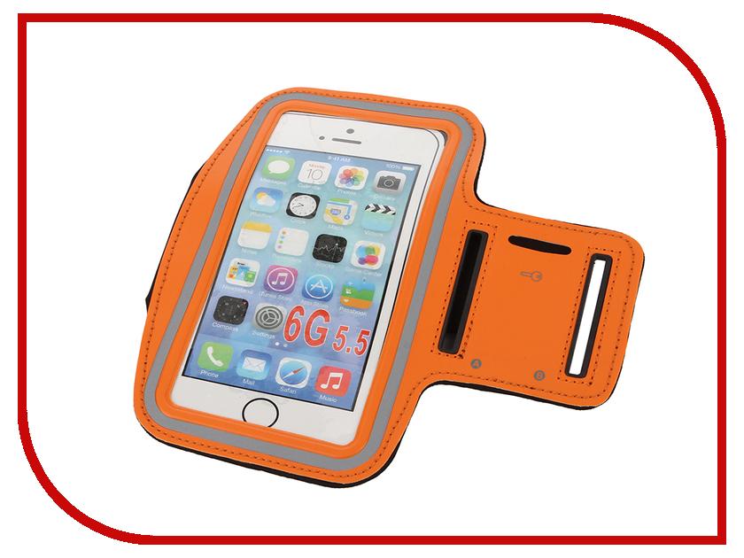 Аксессуар Чехол Apres Smart Sport Armband для iPhone 6 Plus / 6S Plus 5.5 Orange<br>