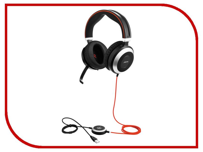 Гарнитура Jabra Evolve 80 UC Stereo<br>