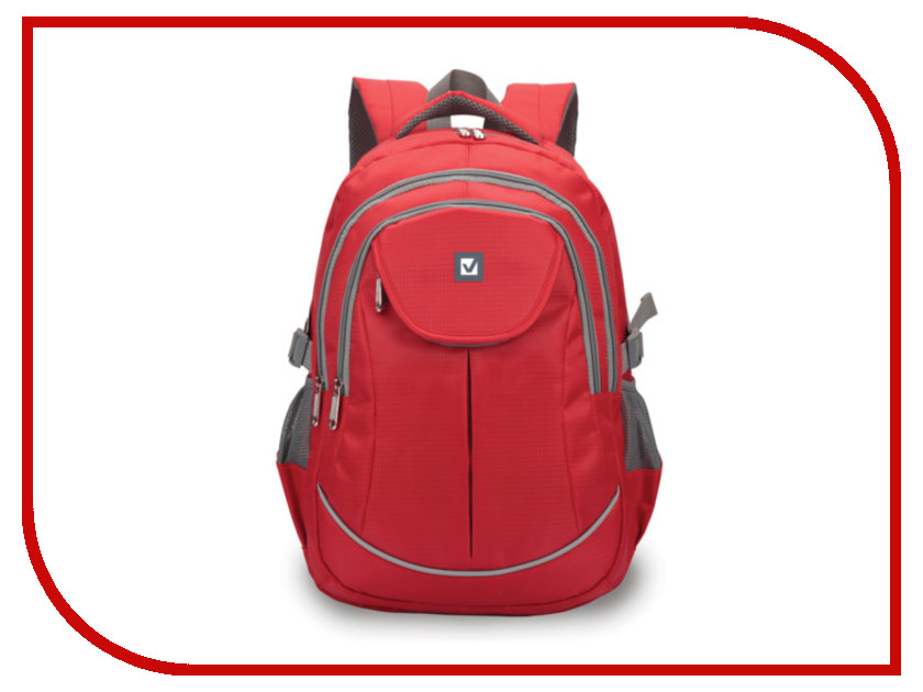 Рюкзак Brauberg Red 225522 brauberg brauberg рюкзак кантри синий