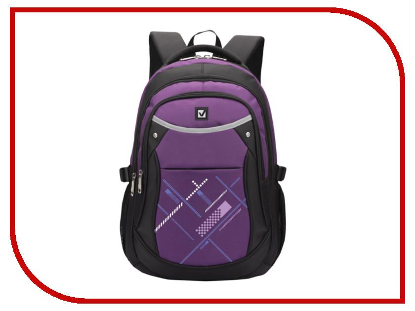 Рюкзак BRAUBERG Black-Violet 225525
