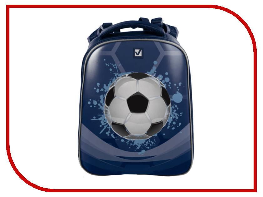 Рюкзак BRAUBERG Мяч Blue 225426<br>