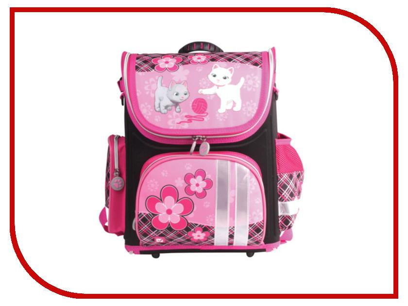 Рюкзак BRAUBERG Котята Pink-Black 225438