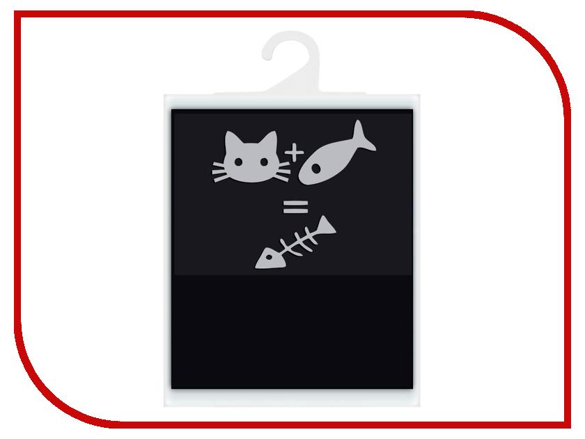 Светоотражатель Cova Мешок для обуви Математика 36х48см Black 333-246