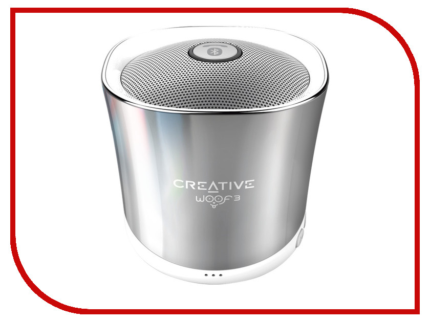 Колонка Creative WOOF3 WW-R N WINTER CH Silver колонка creative t30 wireless