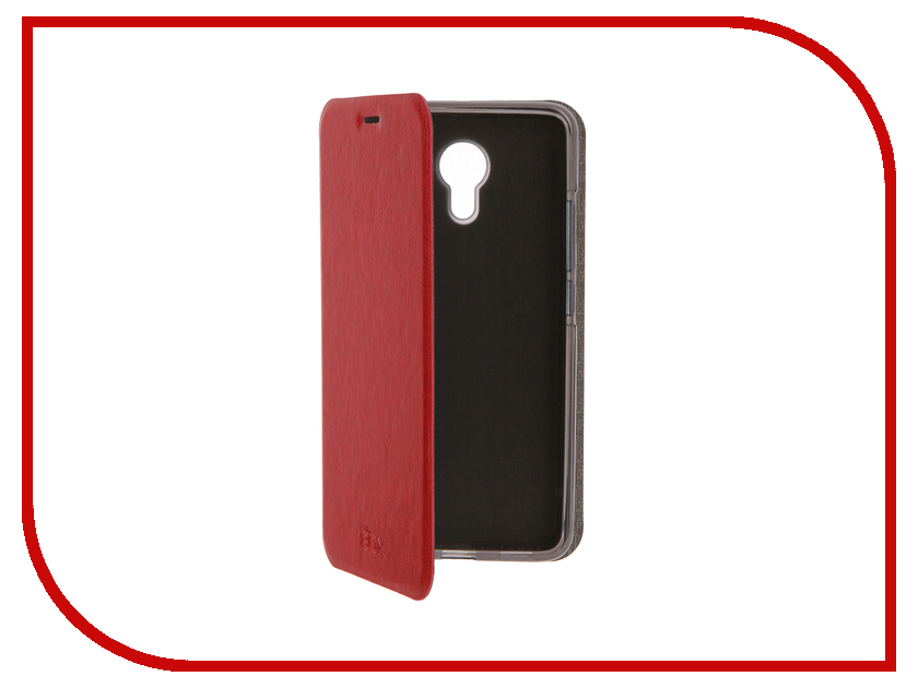 Аксессуар Чехол Meizu M3 Note SkinBox Lux Red T-S-MM3N-003<br>