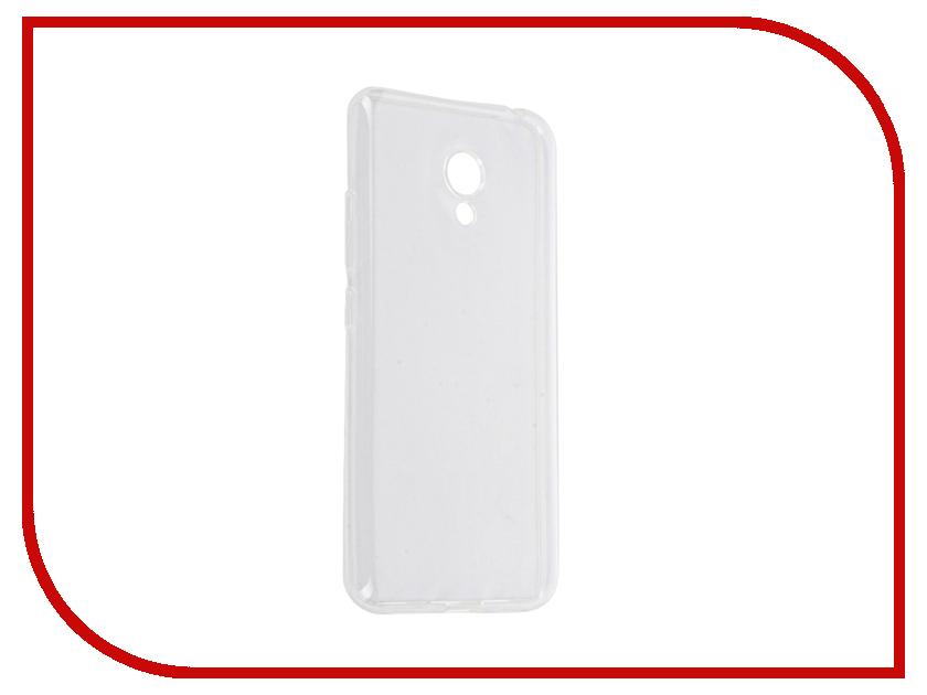 Аксессуар Чехол Meizu M3 mini SkinBox Slim Silicone Transparent T-S-MM3M-006