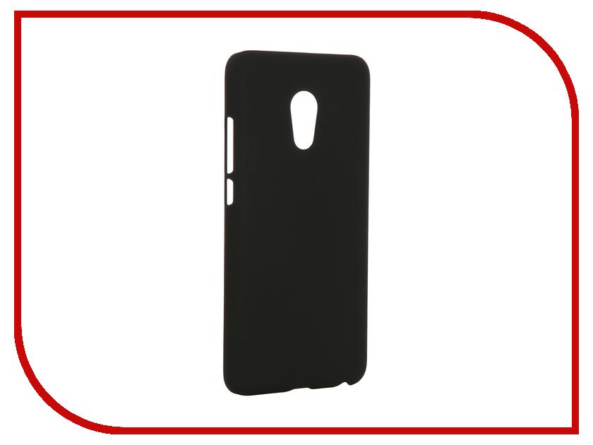Аксессуар Чехол Meizu Pro 6 SkinBox 4People Shield Case Black T-S-MP6-002 + защитная пленка<br>