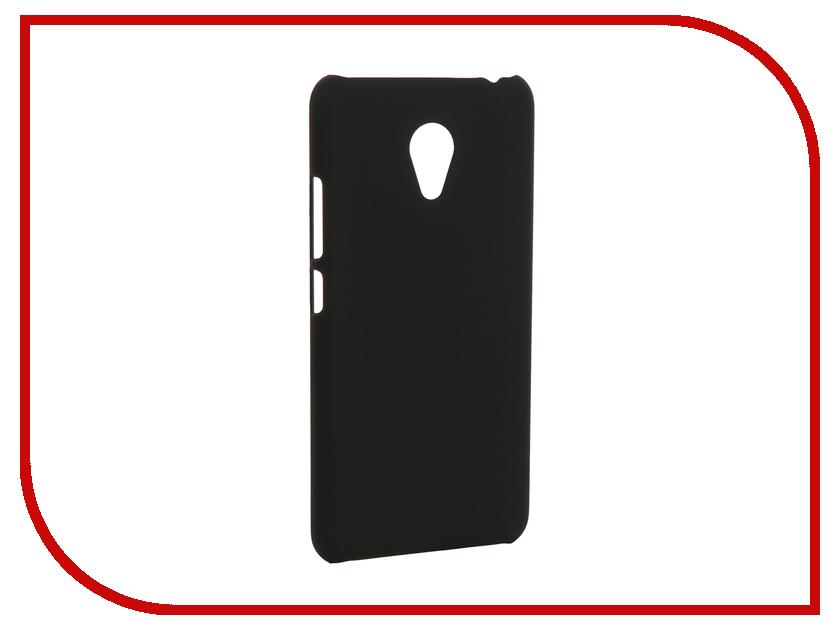 Аксессуар Чехол Meizu M3 mini SkinBox 4People Shield Case Black T-S-MM3M-002 + защитная пленка