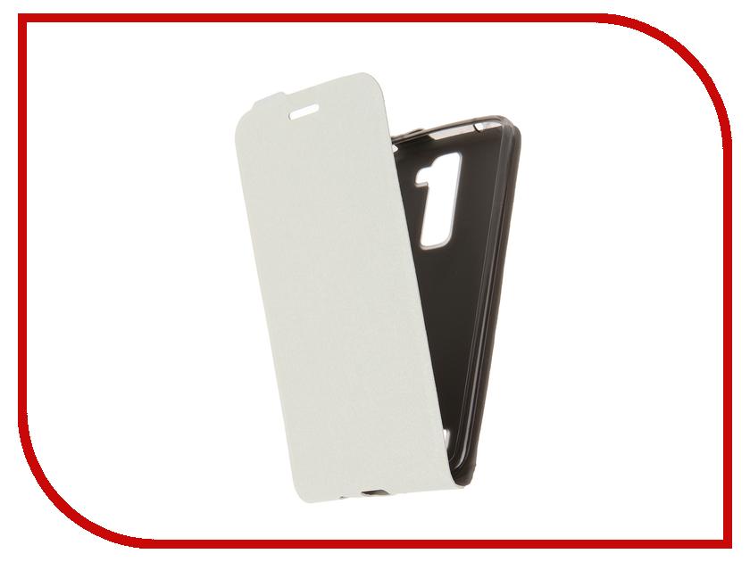 Аксессуар Чехол LG K8 SkinBox Slim White T-F-LK8