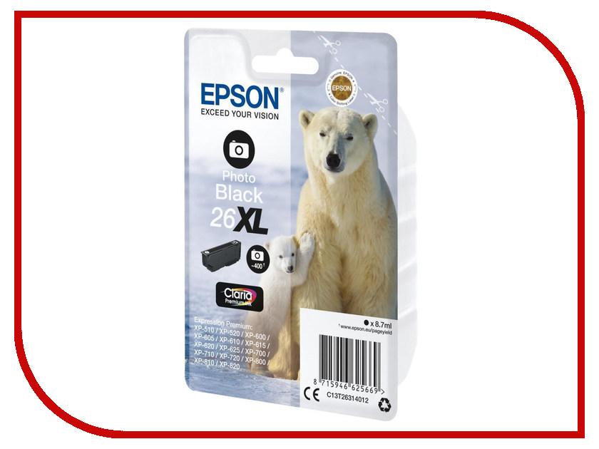 Картридж Epson C13T26314010 для XP600/605/700<br>