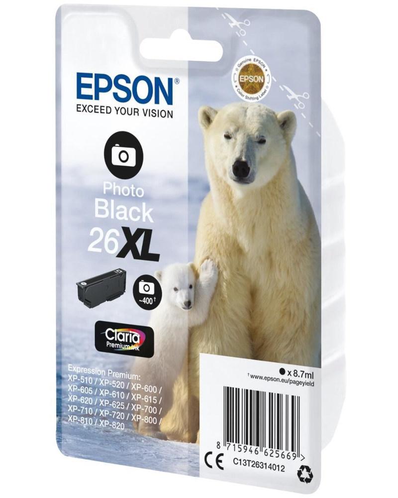 Картридж Epson C13T26314010 / C13T26314012 для XP600/605/700