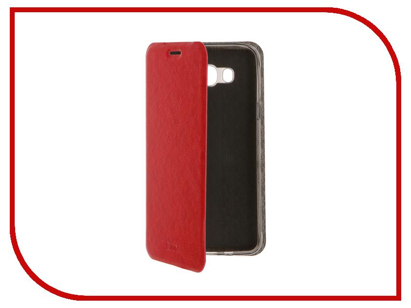 Аксессуар Чехол Samsung Galaxy J7 2016 SkinBox Lux Red T-S-SGJ72016-003<br>