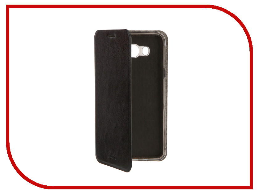 Аксессуар Чехол Samsung Galaxy J7 2016 SkinBox Lux Black T-S-SGJ72016-003<br>