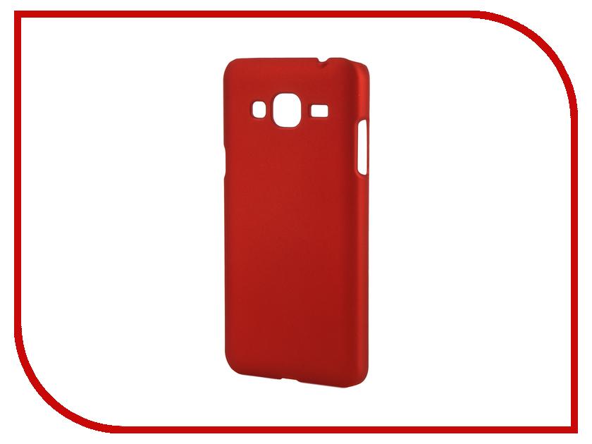 Аксессуар Чехол Samsung Galaxy J3 2016 SkinBox 4People Red T-S-SGJ32016-002 + защитная пленка<br>