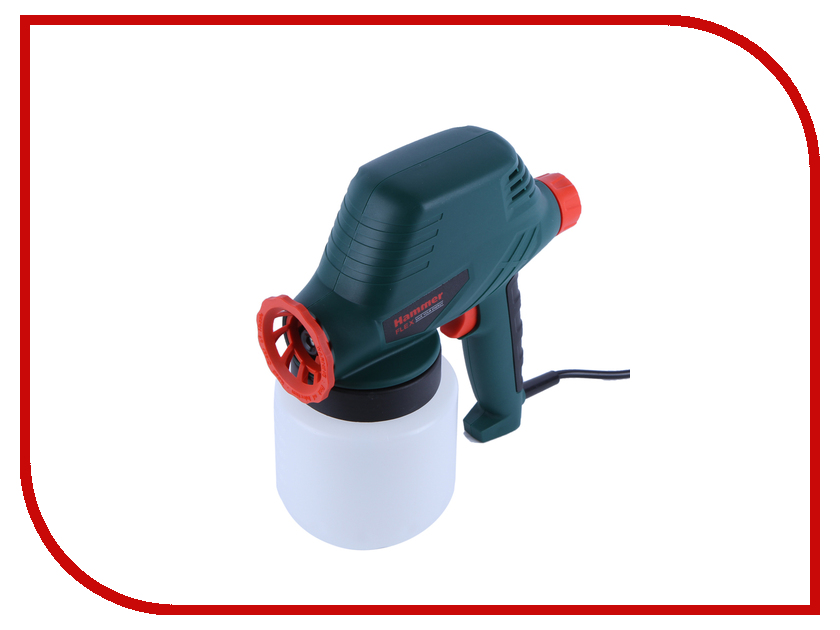 Краскораспылитель Hammer PRZ110 Flex краскораспылитель bosch pfs 5000 e 0603207200