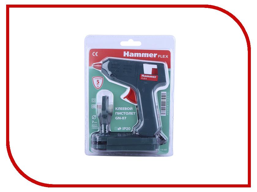 Термоклеевой пистолет Hammer GN-07 цена и фото