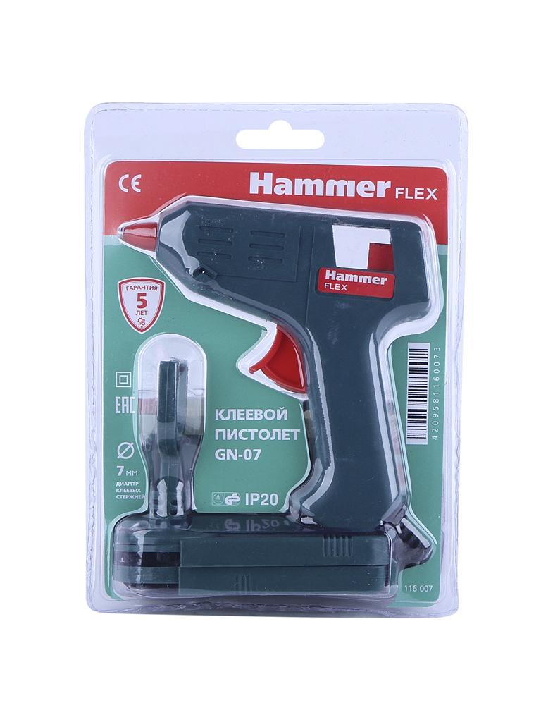 Термоклеевой пистолет Hammer GN-07