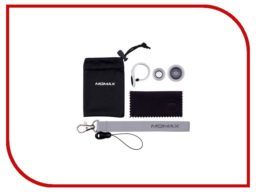 Аксессуар Набор линз MOMAX X-Lens Superior Lens 2 в 1 Silver<br>