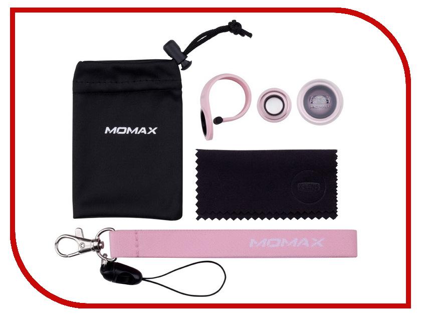 Аксессуар Набор линз MOMAX X-Lens Superior Lens 2 в 1 Rose Gold<br>