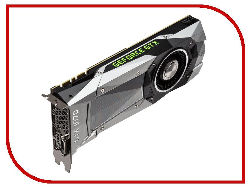 Видеокарта GigaByte GeForce GTX 1070 1506Mhz PCI-E 3.0 8192Mb 8000Mhz 256 bit DVI HDMI HDCP GV-N1070D5-8GD-B