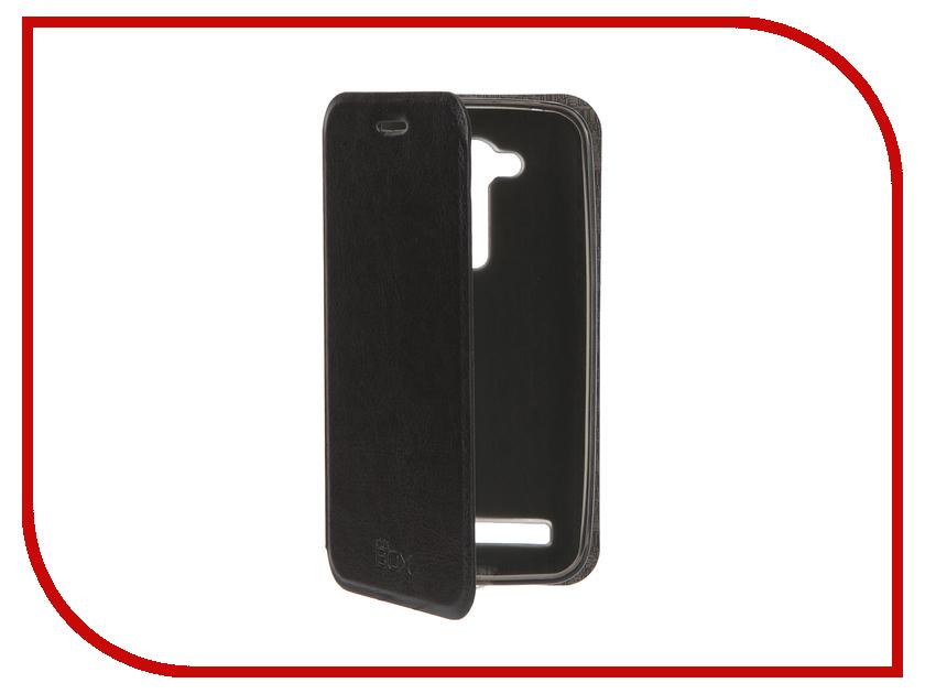 Аксессуар Чехол ASUS ZenFone Go ZB452KG SkinBox Lux Black T-S-AZB452KG-003<br>