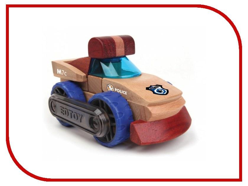 Игрушка EDTOY MagnaMobiles M7c Полицейская машина<br>