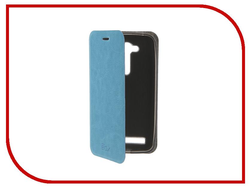 Аксессуар Чехол ASUS ZenFone Go ZB452KG SkinBox Lux Blue T-S-AZB452KG-003<br>