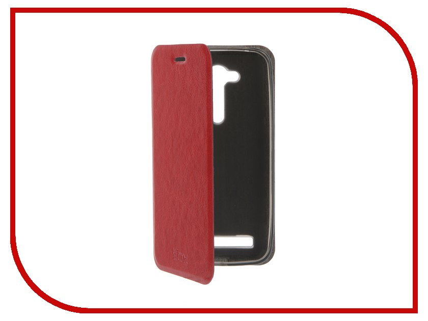 Аксессуар Чехол ASUS ZenFone Go ZB452KG SkinBox Lux Red T-S-AZB452KG-003<br>