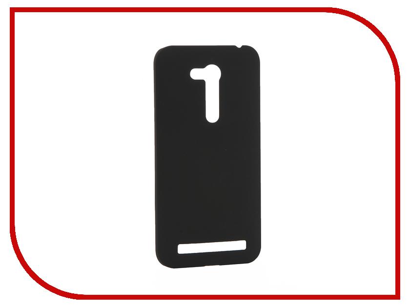 Аксессуар Чехол ASUS ZenFone Go ZB452KG SkinBox 4People Shield Case Black T-S-AZB452KG-002 + защитная пленка<br>