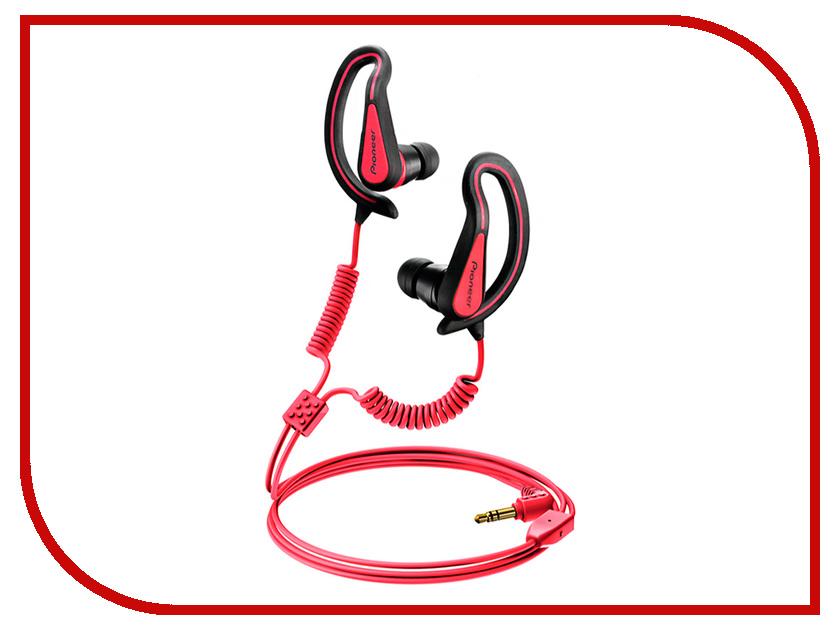 Наушники Pioneer SE-E721-R Red<br>