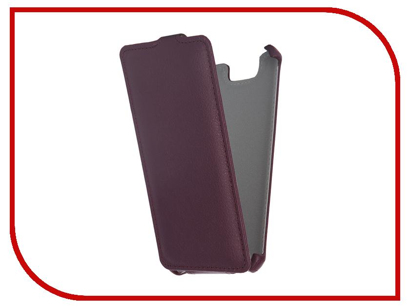 Аксессуар Чехол-флип Micromax Q392 Canvas Juice 2 Gecko Violet GG-F-MICQ392-VIO<br>