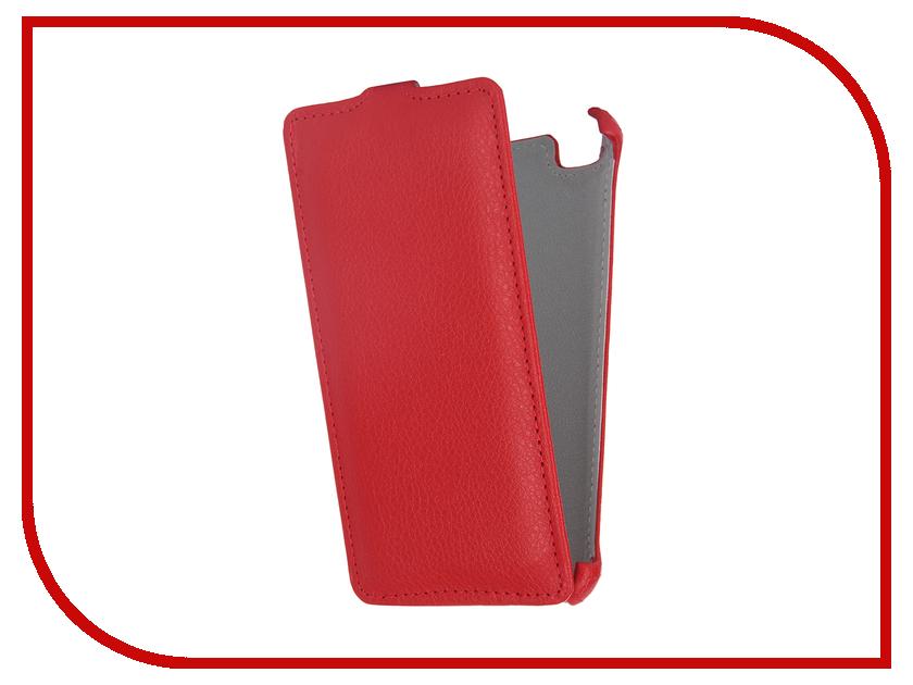 все цены на Аксессуар Чехол-флип Xiaomi Mi4i / Mi4c Gecko Red GG-F-XMMI4-RED онлайн