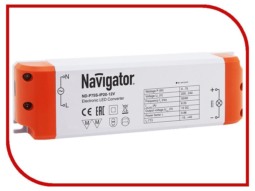 Блок питания Navigator 94 681 ND-P100S-IP20-12V
