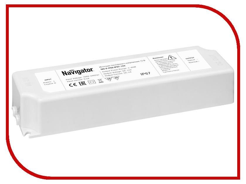 Блок питания Navigator 71 497 ND-P-P60-IP67-12V<br>
